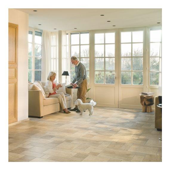 Quick-Step Exquisa Ceramic Light Tile EXQ1554 Laminate Flooring