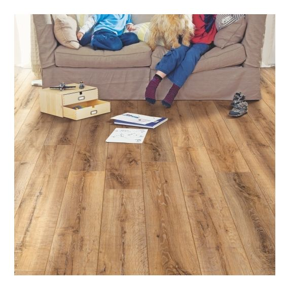 Elka Auburn Oak 8mm 4V Laminate Flooring