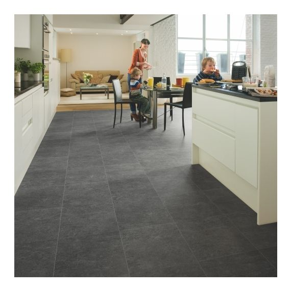 Quick-Step Exquisa Slate Dark Tile EXQ1552 Laminate Flooring