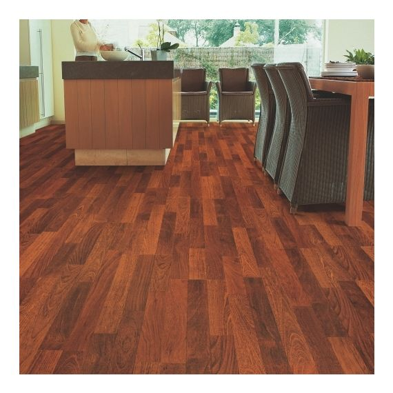 Quick Step Flooring Classic Enhanced Merbau 3 Strip CL1039 Laminate Flooring