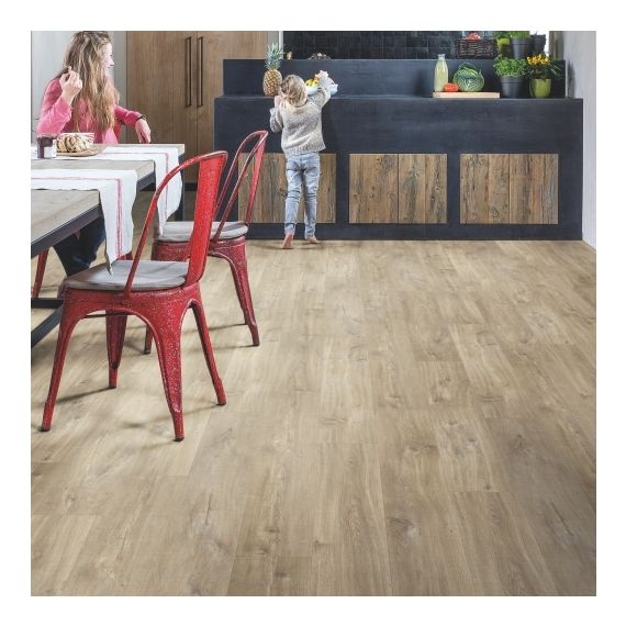 Quick Step Livyn Balance Click Canyon Oak Light Brown With Saw Cuts BACL40031 Luxury Vinyl Flooring