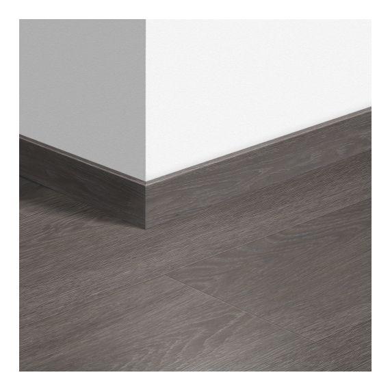 Quick-Step Livyn Waterproof Skirting Boards Silk Oak Dark Grey