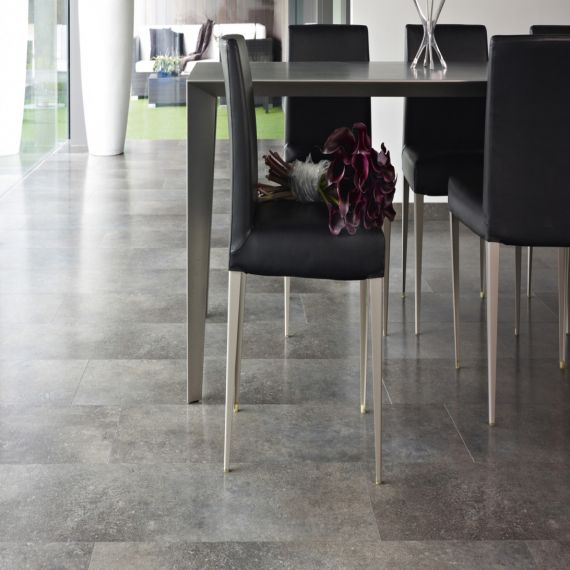 Balterio Pure Stone Laminate Flooring Belgian Blue Flamed