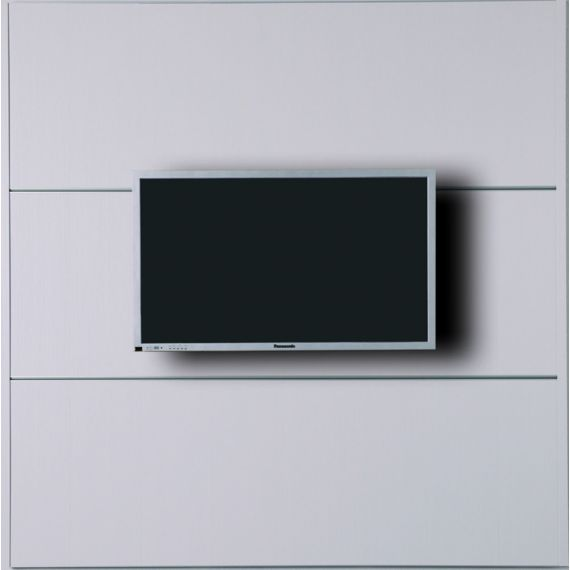 Cinewall TV Wall Furniture XL With Decor Set Candela White