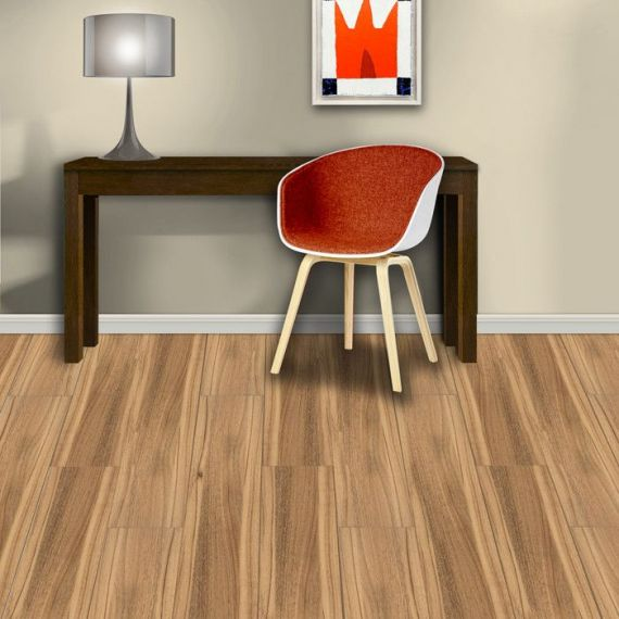 Aqua-Step Vinyluxe Costa Rica Teak Waterproof Laminate Flooring