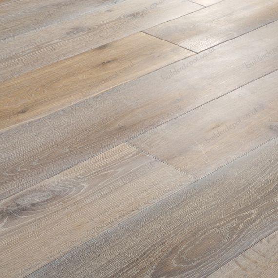 Elka Real Wood Engineered Flooring 18mm Washed & Smoked Oak