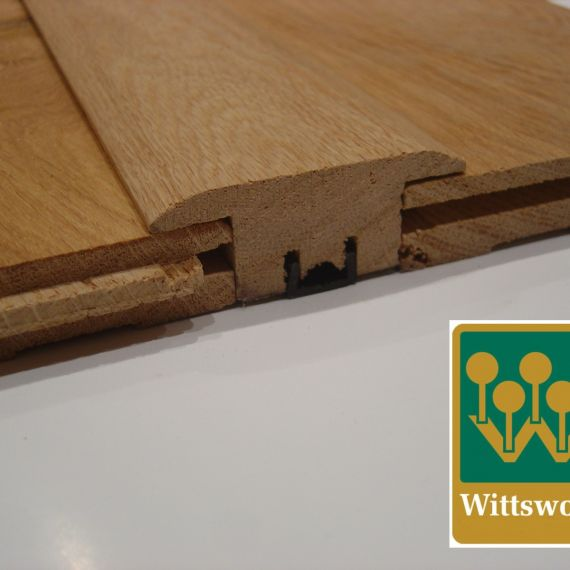 Solid Oak T Section Door Profile