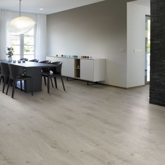 Elesgo Arctic Oak Embossed Laminate Flooring