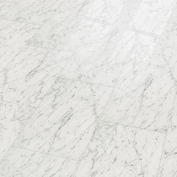 Elesgo Supergloss Flooring Carrara White Maxi V5 Tile