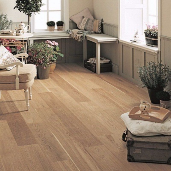 Elka 20mm Rustic Oak Brushed & Oiled T&G Engineered Wood Flooring