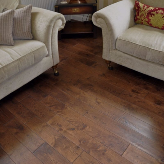 Elka Solid Wood Flooring 18mm Antique Oak Lacquered