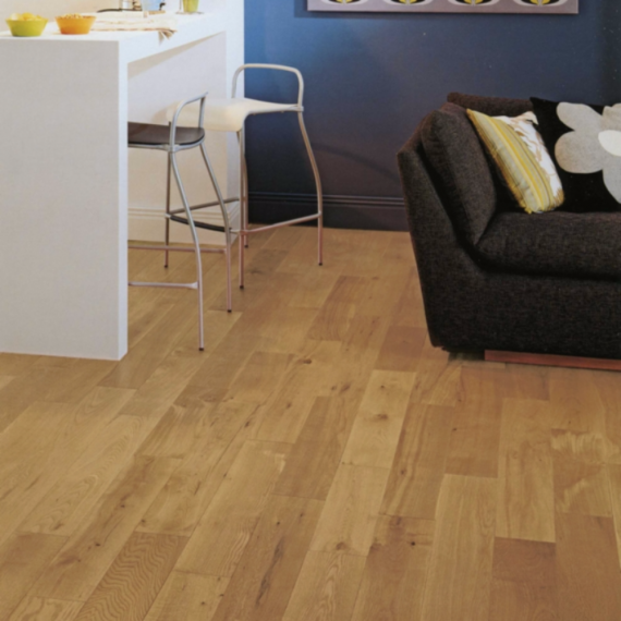 Elka Solid Wood Flooring 18mm Rustic Oak Brushed & Oiled