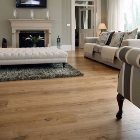 Elka Real Wood Engineered Flooring 14mm Champagne Oak