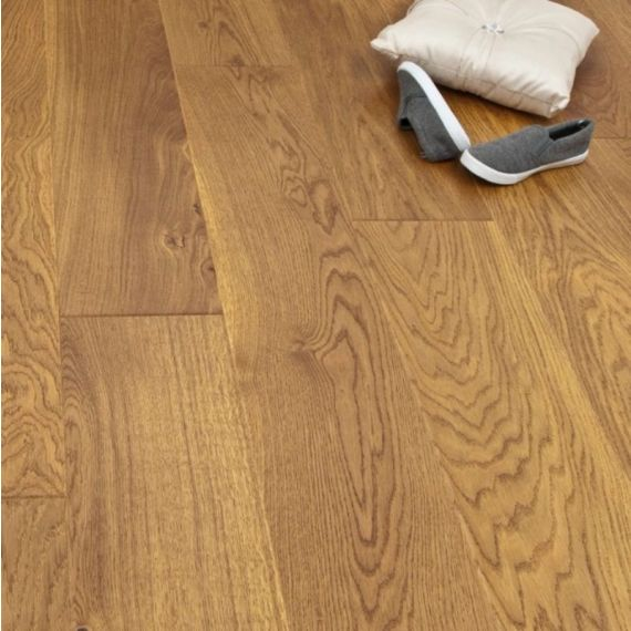 Elka Golden Oak Real Wood Engineered Flooring 12.5mm