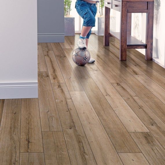 Elka Salvaged Oak 12mm V4 Laminate Flooring