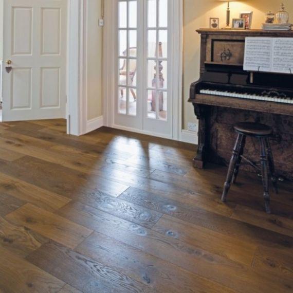 Elka Caramel Oak Real Wood Engineered Flooring 14mm