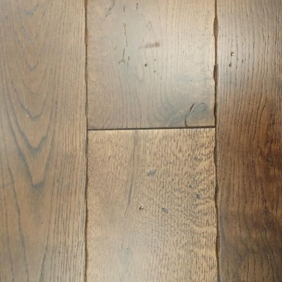 Real Wood Engineered Flooring 20mm Antique Coffee Oak 190mm
