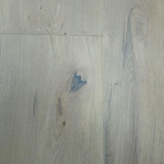 Engineered Wood Flooring Antique Distressed White Oak Oiled 220mm x 15mm Chene