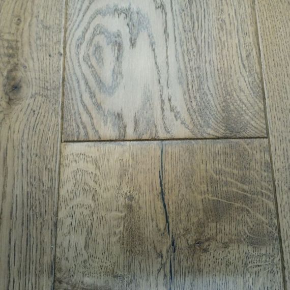 Real Wood Engineered Flooring 20mm Golden Oak Hand Scraped 190mm