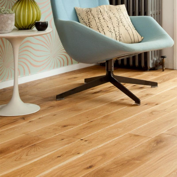 Real Wood Engineered Flooring 18mm Oiled White Oak 150mm