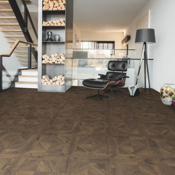 Quick Step Impressive Patterns Royal Oak Dark Brown IPA4145 Laminate Flooring