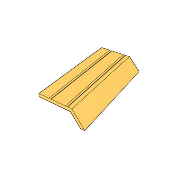 SELF ADHESIVE ANGLE EDGE GOLD 8MM