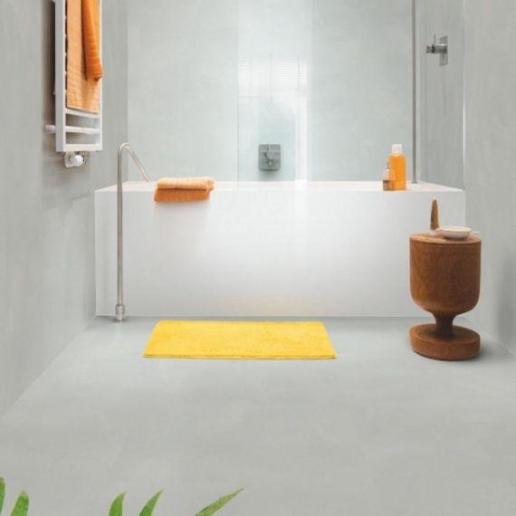 Quick Step Livyn Ambient Click Plus Minimal Light Grey AMCP40139 Luxury Vinyl Tiles