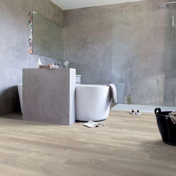 Quick Step Livyn Pulse Click Sand Storm Warm Grey PUCL40083 Luxury Vinyl Flooring