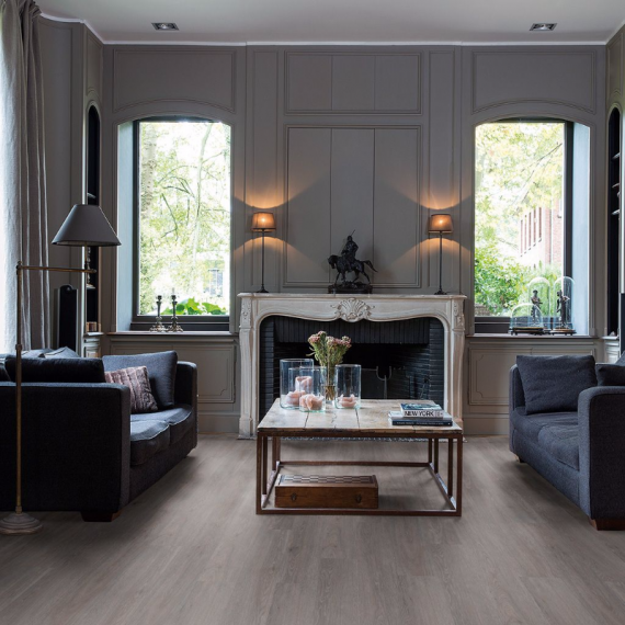 Quick Step Livyn Balance Plus Click Silk Oak Dark Grey BACP40060 Luxury Vinyl Flooring