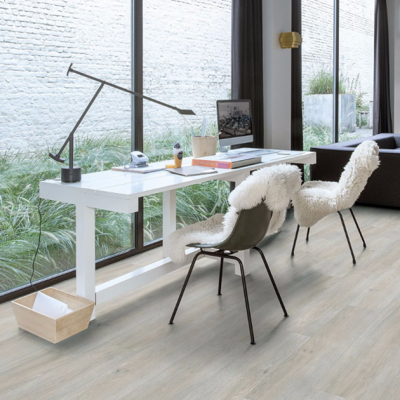 Quick Step Flooring Livyn Balance Plus Click Silk Oak Light BACP40052 Luxury Vinyl Flooring