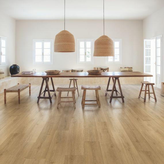 Quick Step Signature Brushed Oak Warm Natural SIG4762 Laminate Flooring