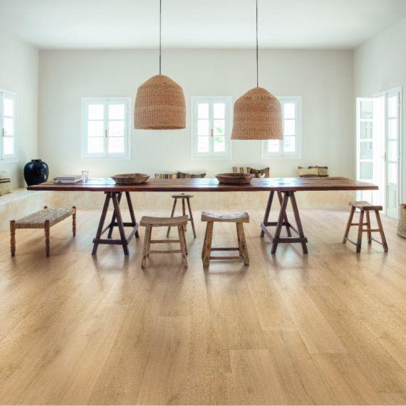 Quick Step Signature Brushed Oak Natural SIG4763 Laminate Flooring