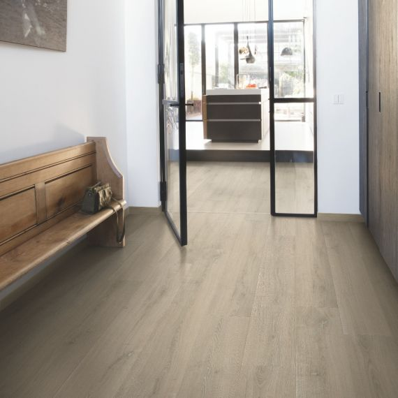 Quick Step Signature Brushed Oak Beige SIG4764 Laminate Flooring