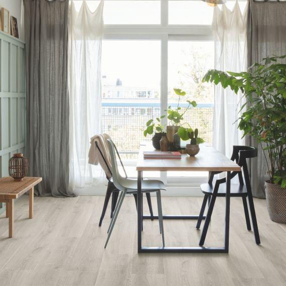 Quick Step Signature Brushed Oak Grey SIG4765 Laminate Flooring