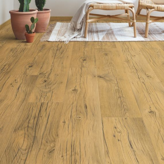Quick Step Signature Cracked Oak Natural SIG4767 Laminate Flooring