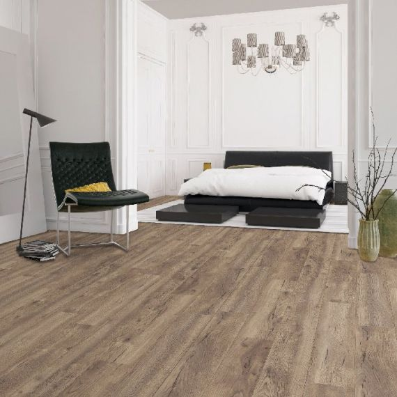 HDM Homebrand Finesse Natural Oak V2 Embossed Laminate Flooring