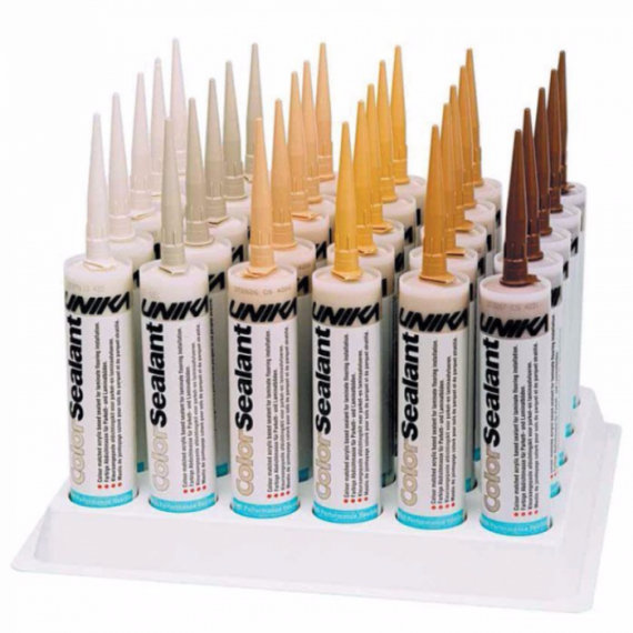 Unika Colour Sealants 310ml Cartridges Grey Dust