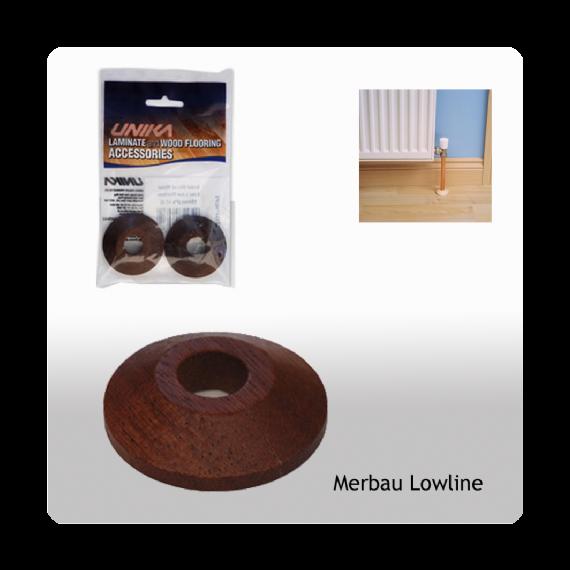 Unika Solid Wood Low Line Pipe Covers Merbau