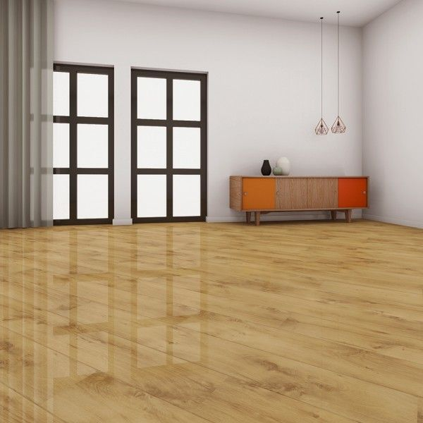 Summer Oak Laminate Flooring, Elesgo High Gloss Laminate Flooring