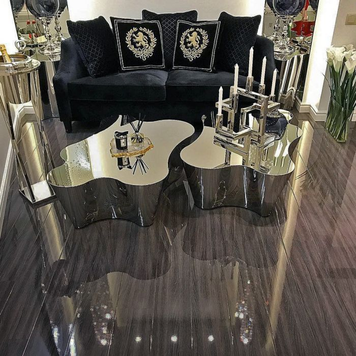 Elesgo High Gloss Glamour Life Moor Oak, Elesgo High Gloss Laminate Flooring