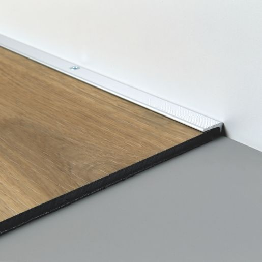 Quick Step Livyn End Profile Silver, Is Laminate Flooring Good For Commercial Use