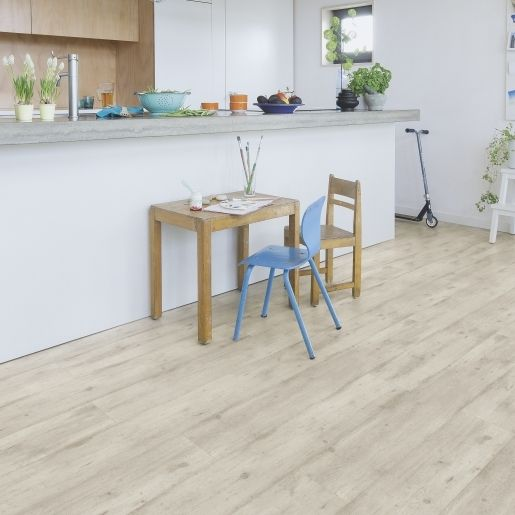 Quick Step Impressive Ultra Concrete Wood Light Grey Planks Imu1861 Laminate Flooring