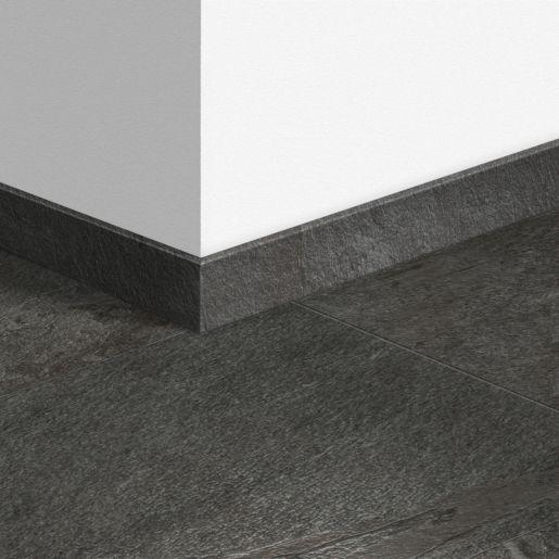 Quick Step Livyn Waterproof Skirting, Black Slate Waterproof Laminate Flooring