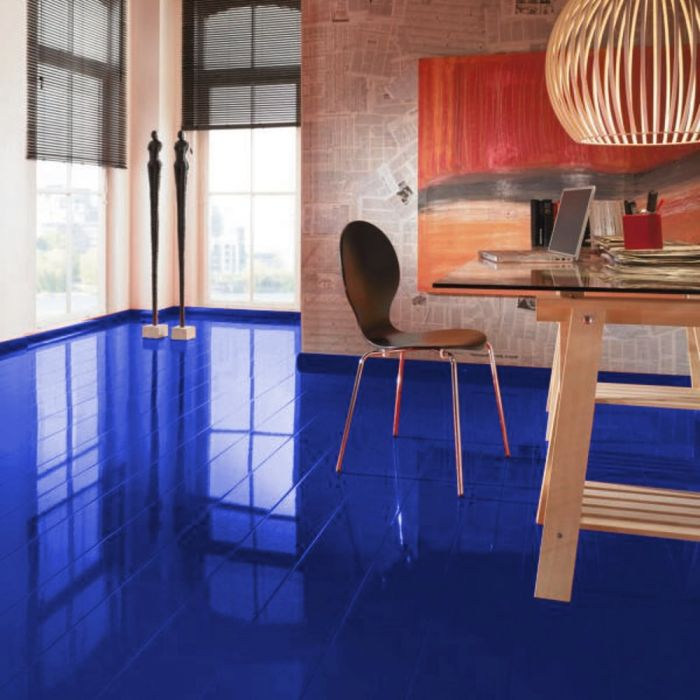 Elesgo Supergloss Glamour Life Blue Night Laminate Flooring Lfdirect
