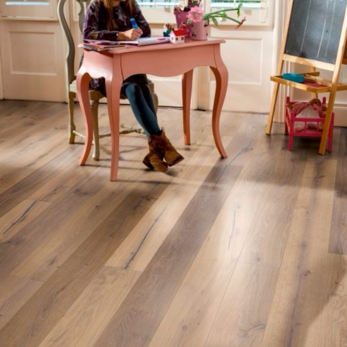 Elka Real Wood Engineered Flooring 14mm Truffle Oak Lfdirect