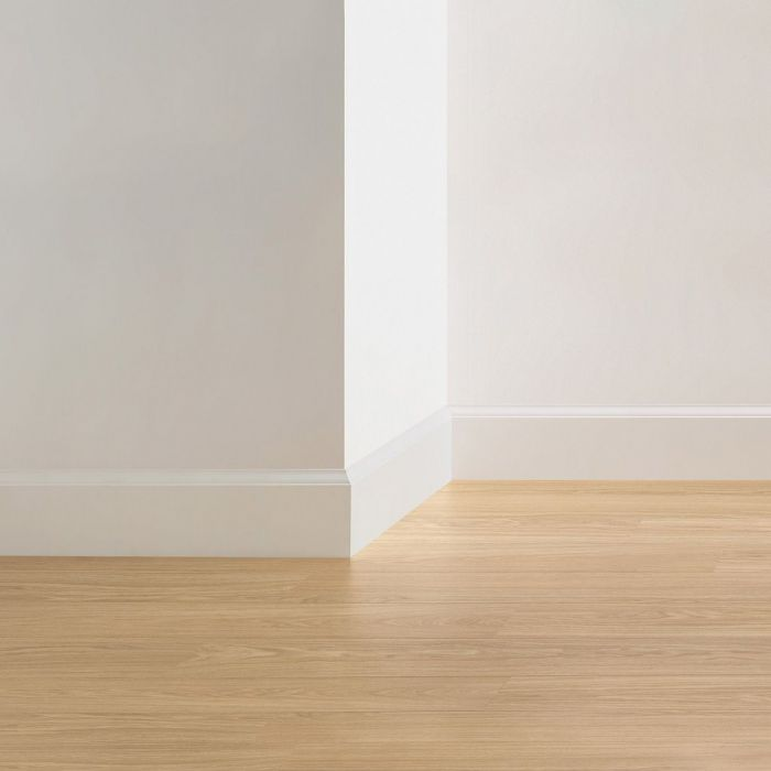 Quick Step Paintable Skirting Boards Ovolo Qsiskrwhitemd240 Lfdirect Laminate Flooring