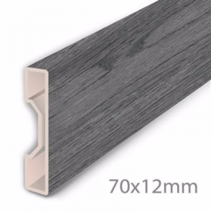 Aqua-Step Skirting Board Moonlight Oak