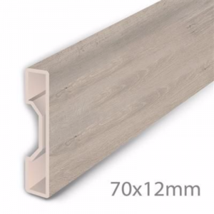 Aqua-Step Skirting Board Oak Grey