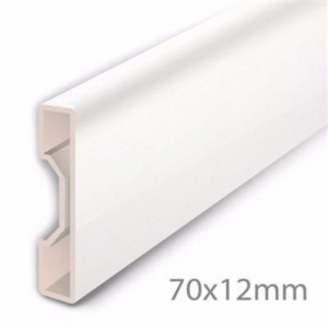 Aqua-Step Skirting Board Ultra White
