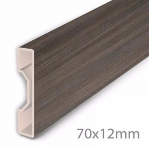 Aqua-Step Skirting Board Cappuccino Oak